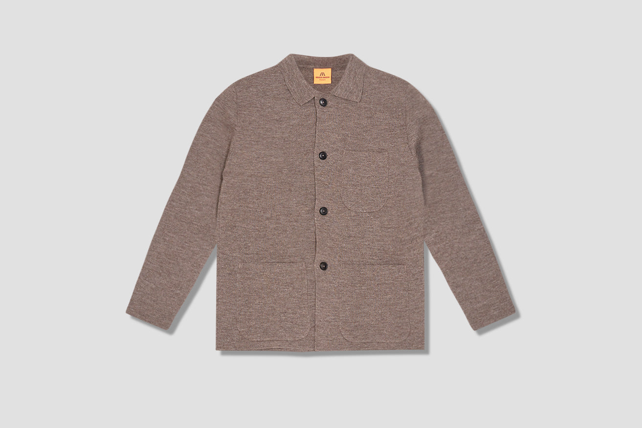 WORK JACKET Light brown