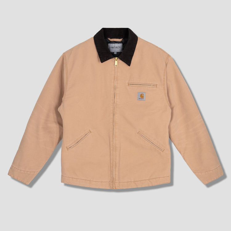 OG DETROIT JACKET AGED CANVAS I027358 Brown