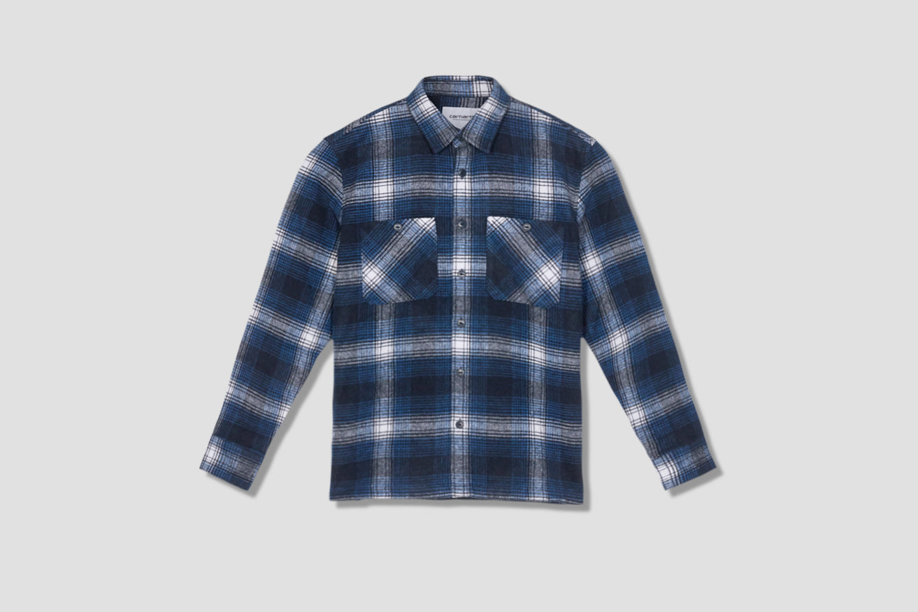 L/S NIGEL SHIRT I028235 Navy