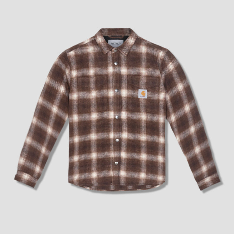 LASHLEY SHIRT JACKET I028357 Brown