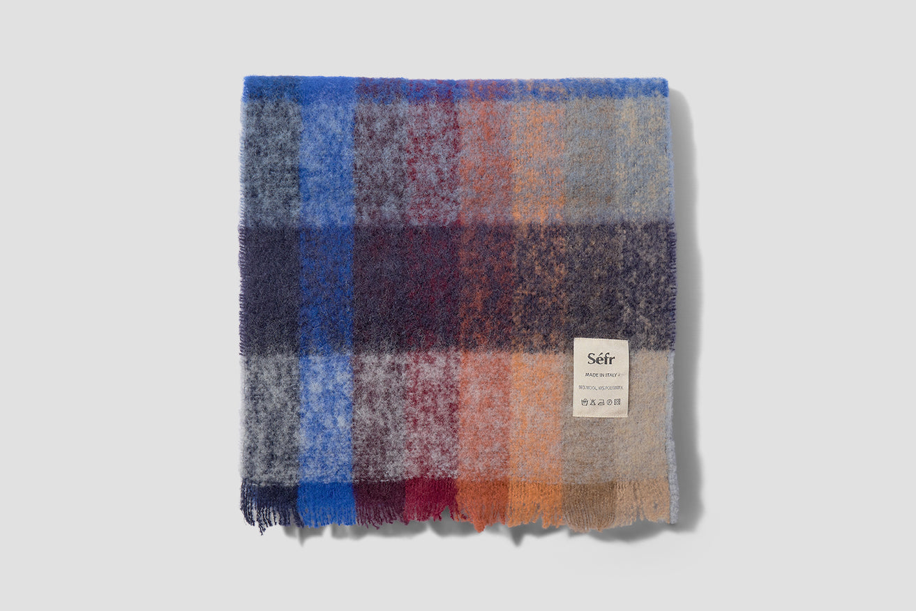 SCARF MULTICOLOR CHECK Multi