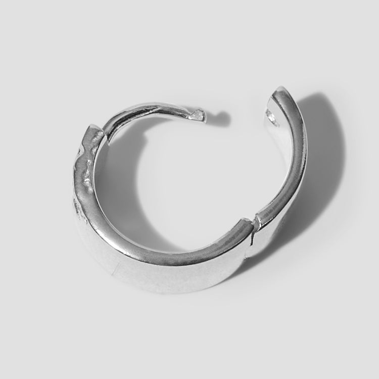 BRIDGE EARRING 100785AG Silver