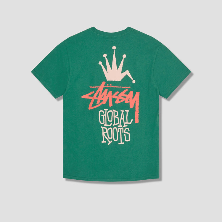 GLOBAL ROOTS TEE 1904622 Green