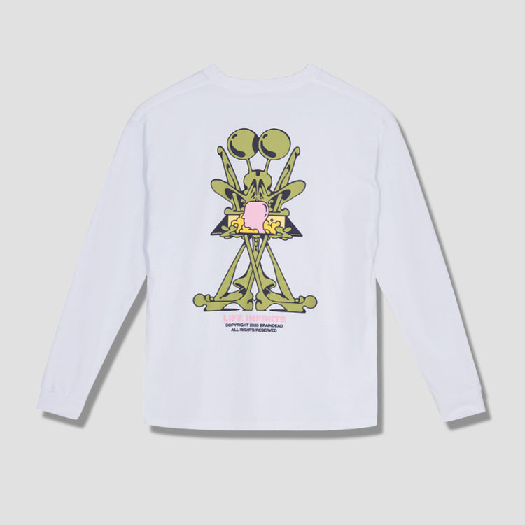 PURGATORY LONG SLEEVE T-SHIRT BDW20T01001406WH01 White