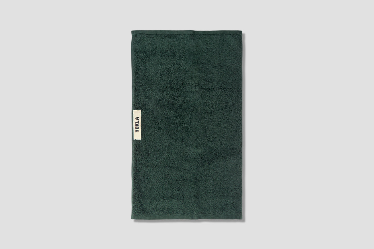 GUEST TOWEL - TERRY 30X50 Green
