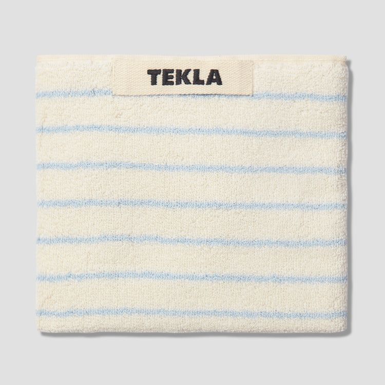 GUEST TOWEL - TERRY STRIPED 30X50 Light blue