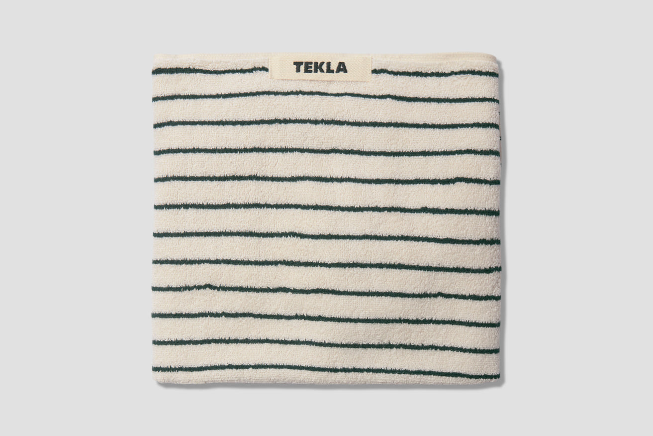 HAND TOWEL - TERRY STRIPED 50X80 Green