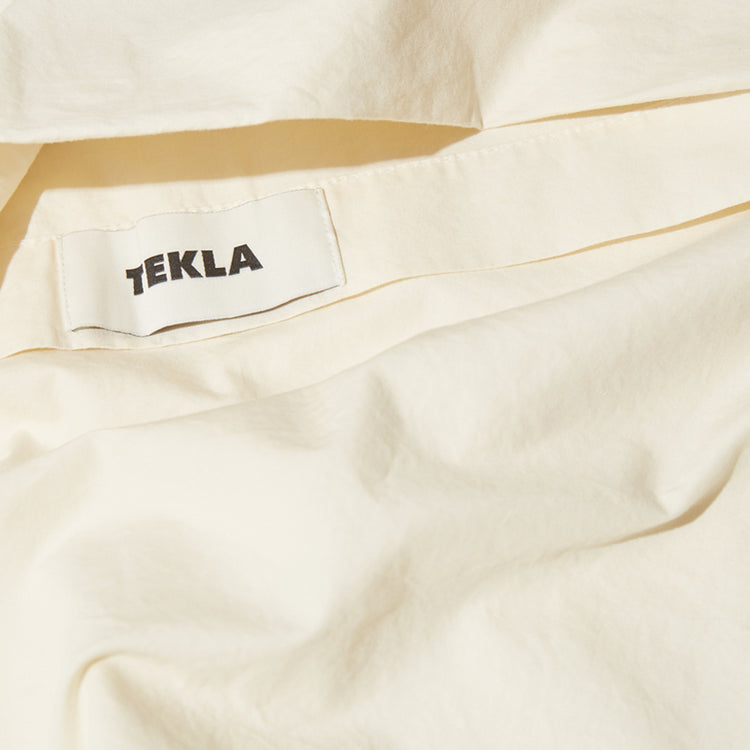 PILLOW SHAM - COTTON PERCALE 60X63 Off white