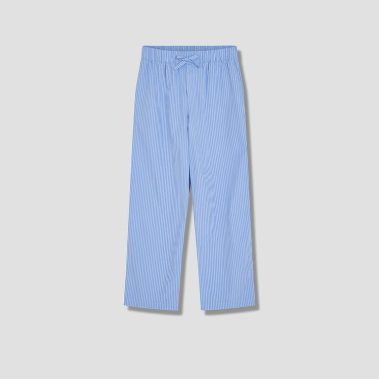 PYJAMAS PANTS - COTTON POPLIN Light blue