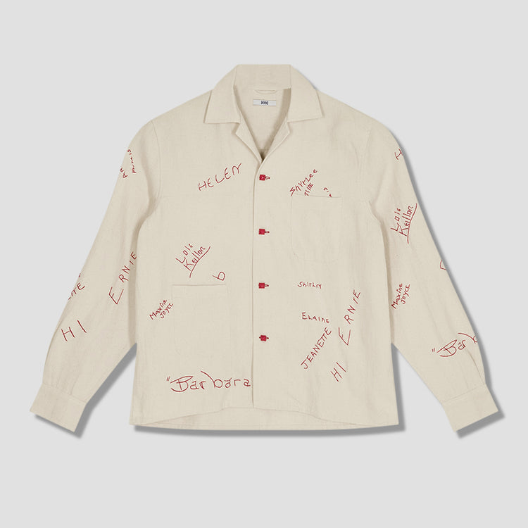 SCHOOLHOUSE SIGNATURE SHIRT MR22SH05.C001.682 White