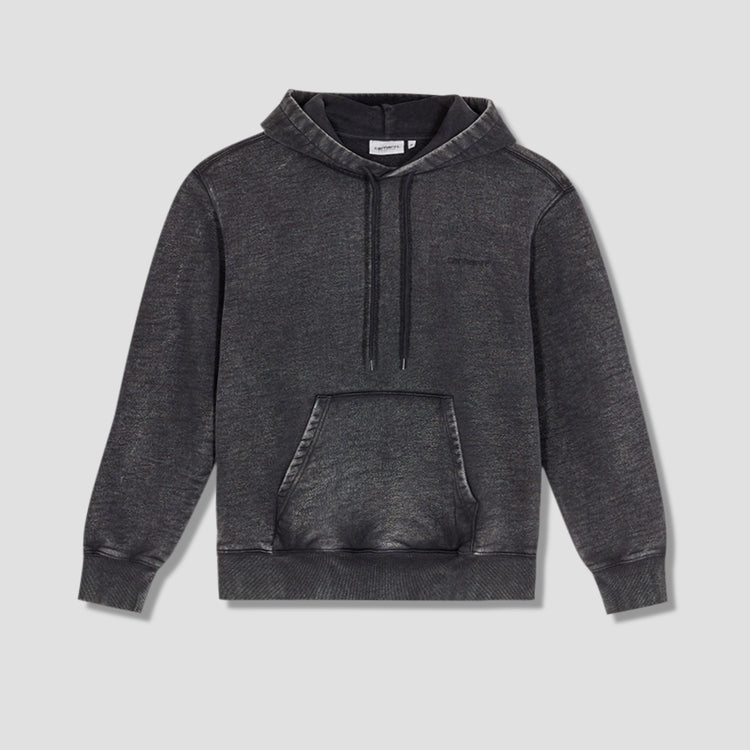 HOODED MOSBY SCRIPT SWEATSHIRT I028586 Black