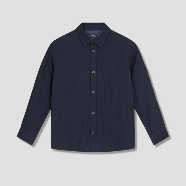 BILL OVERSHIRT COEIX-H02646 Navy