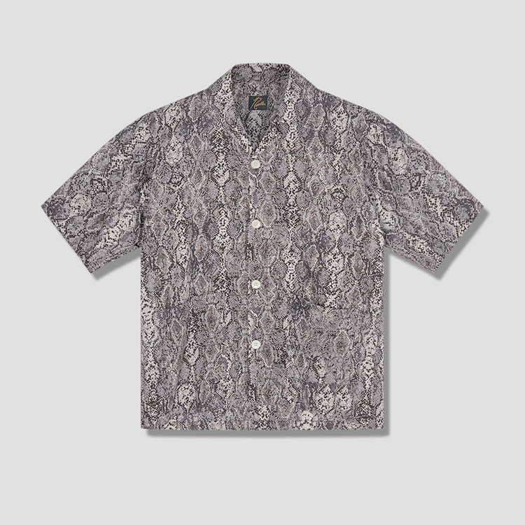 CABANA SHIRT - PYTHON PT. IN169 White