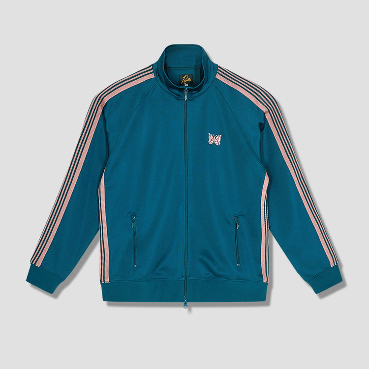 TRACK JACKET - POLY SMOOTH IN180 Green