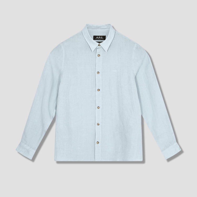 VINCENT SHIRT LIAED-H12426 Light blue