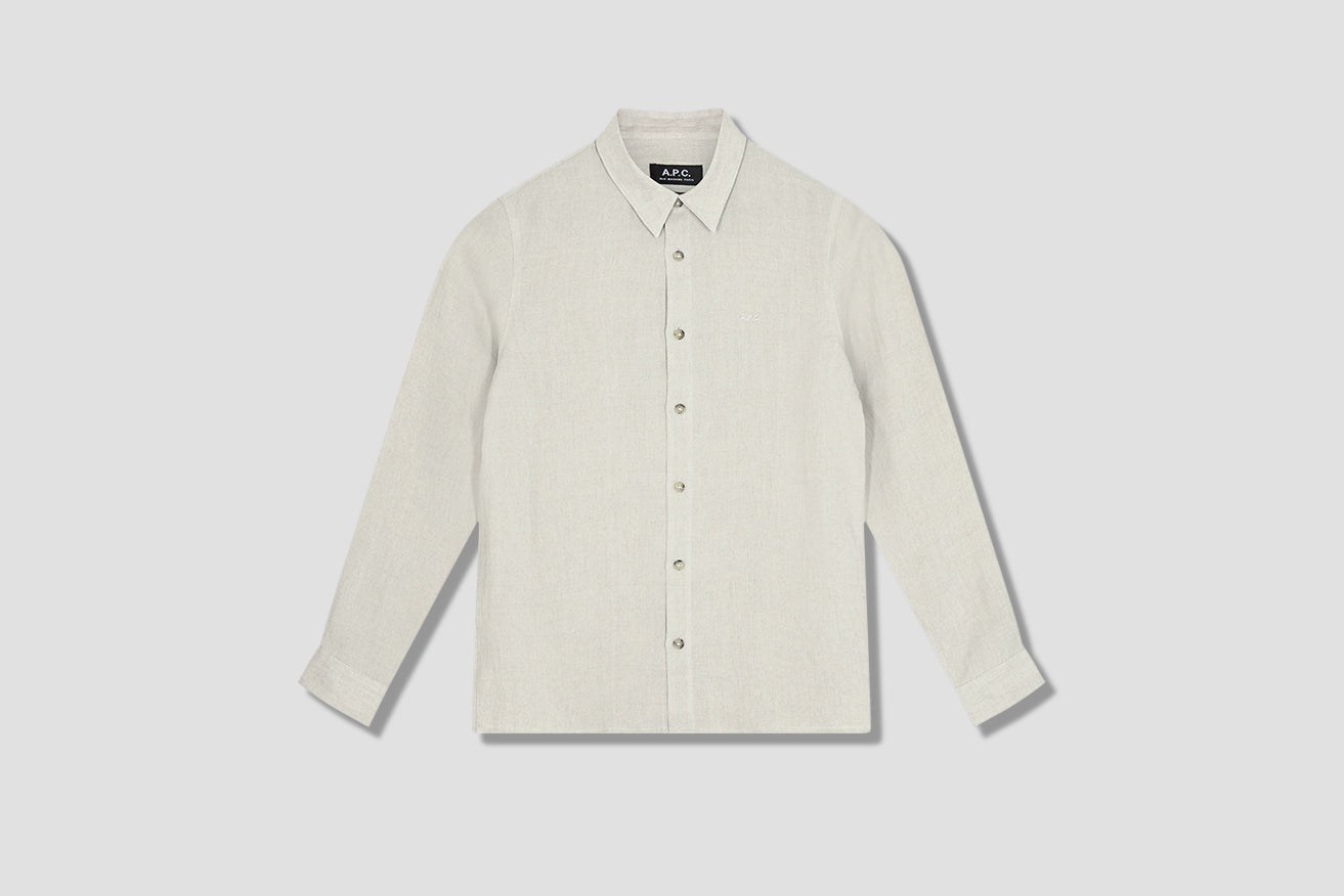 VINCENT SHIRT LIAED-H12426 Off white
