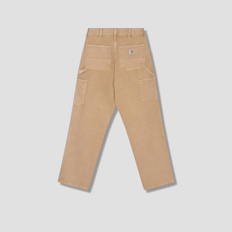 SINGLE KNEE PANT WORN CANVAS I026463 Brown