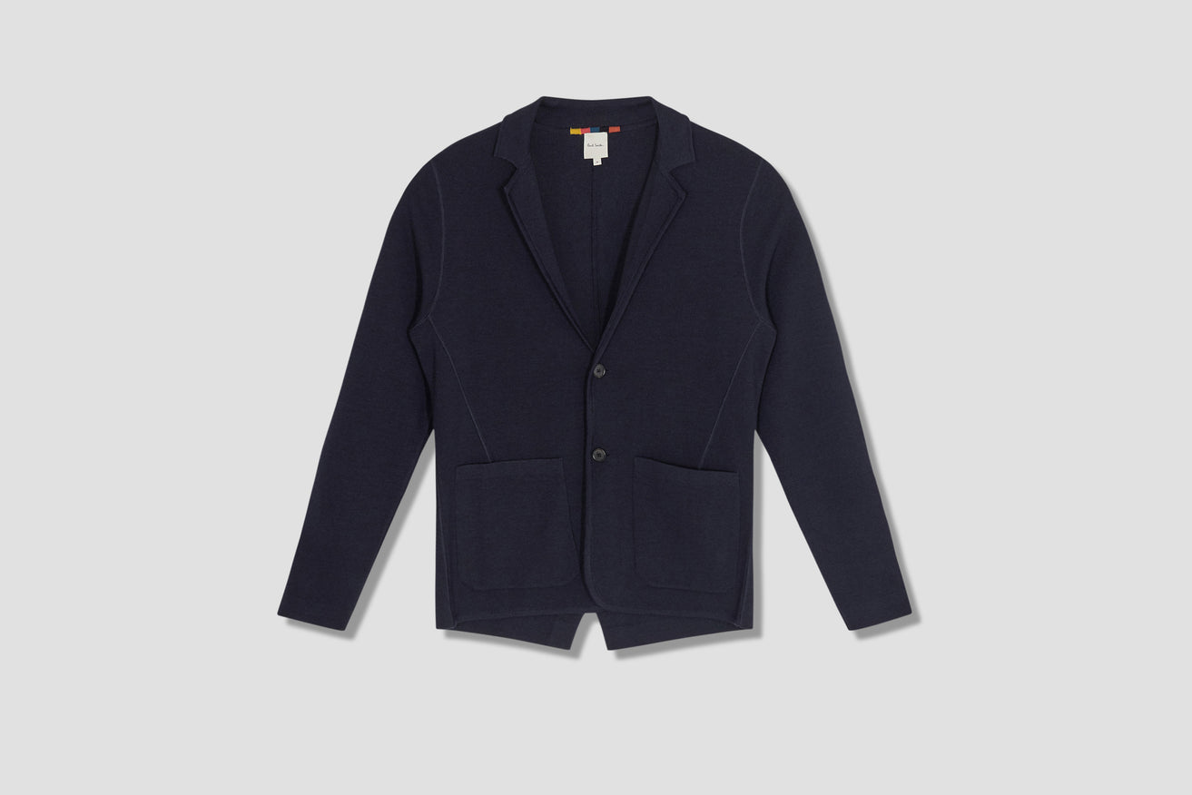 GENTS SB KNITTED JACKET M1R-521U-F01399 Navy