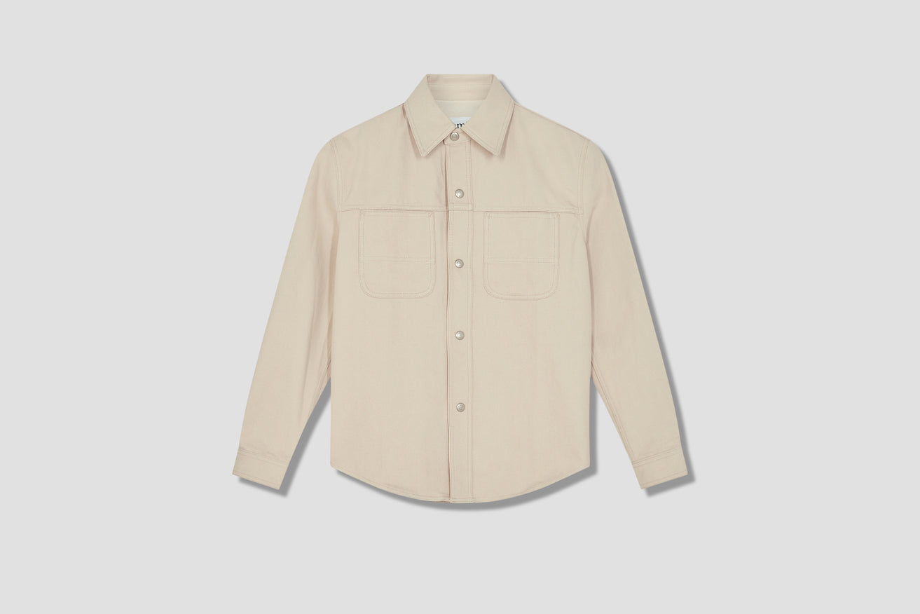 DENIM OVERSHIRT E21HD429.615 Off white