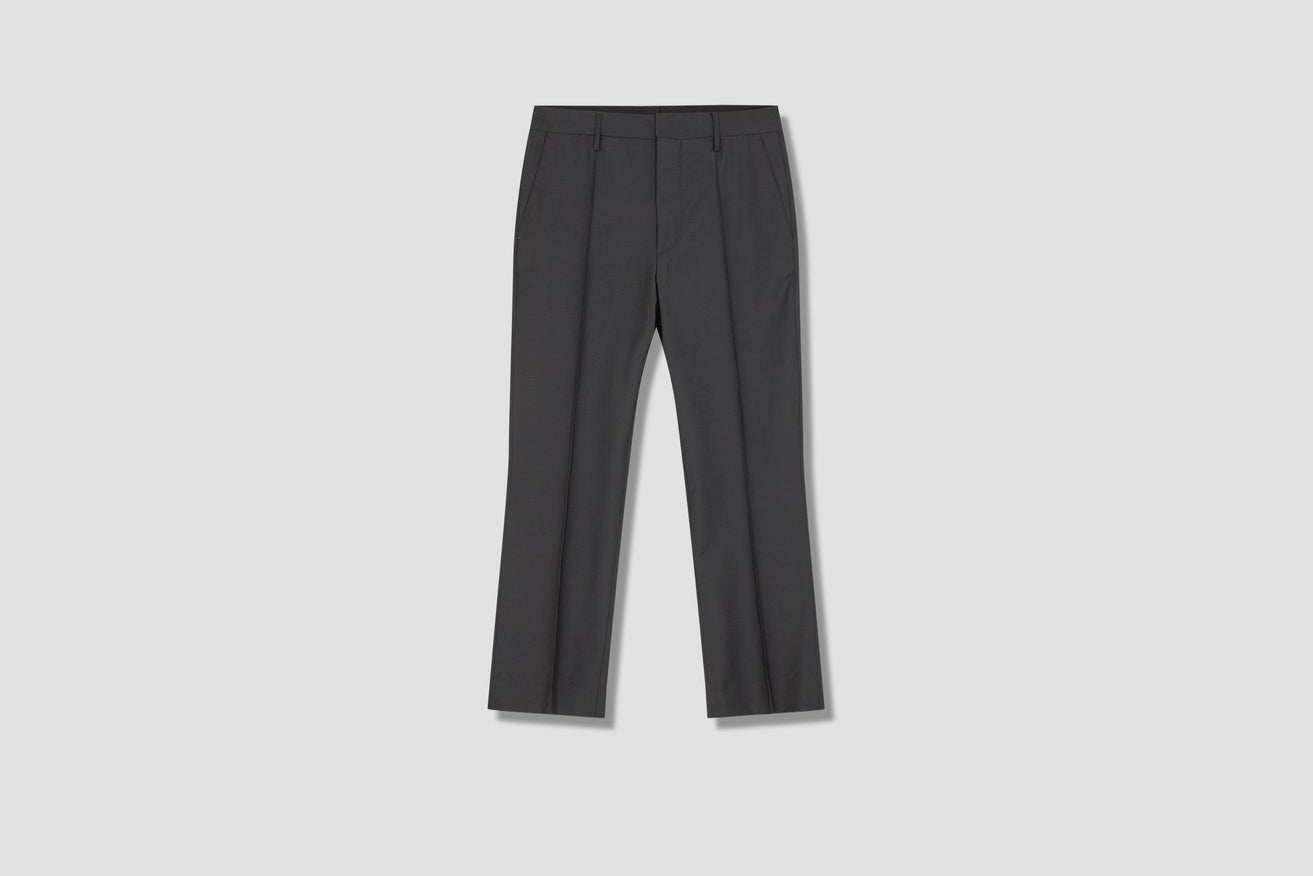 SHARP TROUSERS WOOL 4067 Black