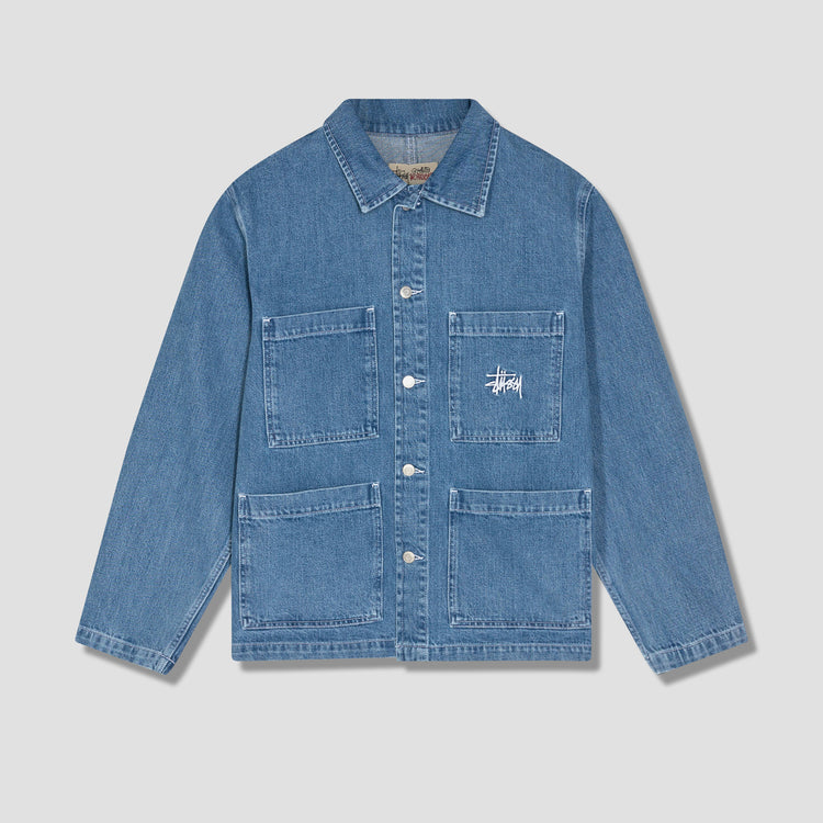 DENIM CHORE JACKET 115570 Blue