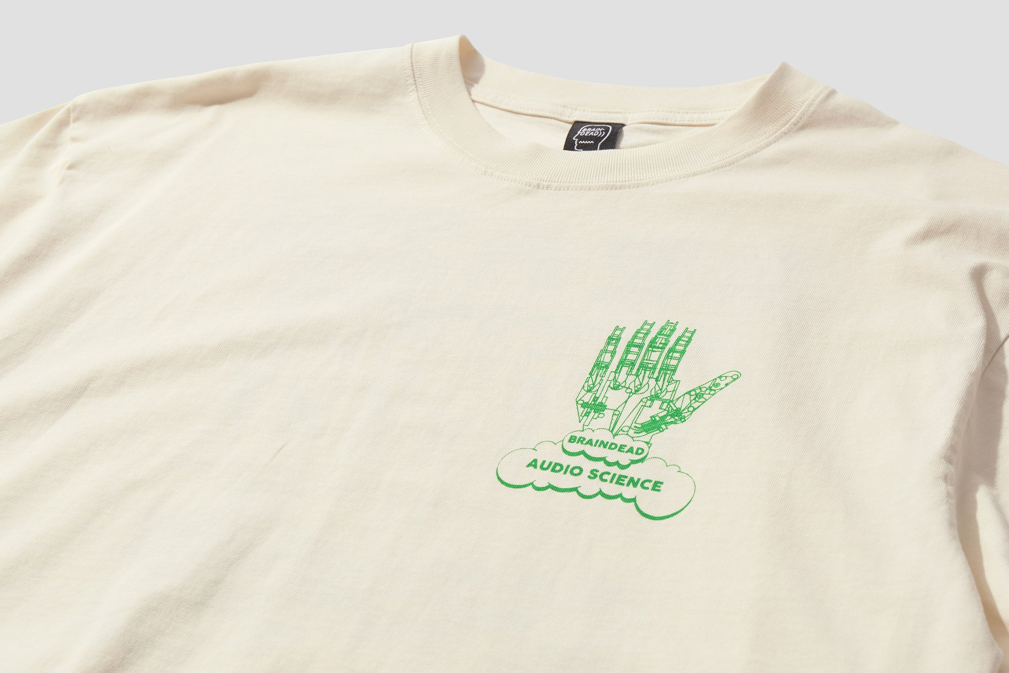 AUDIO SCIENCE T-SHIRT BDP21T00001616WH02 Off white