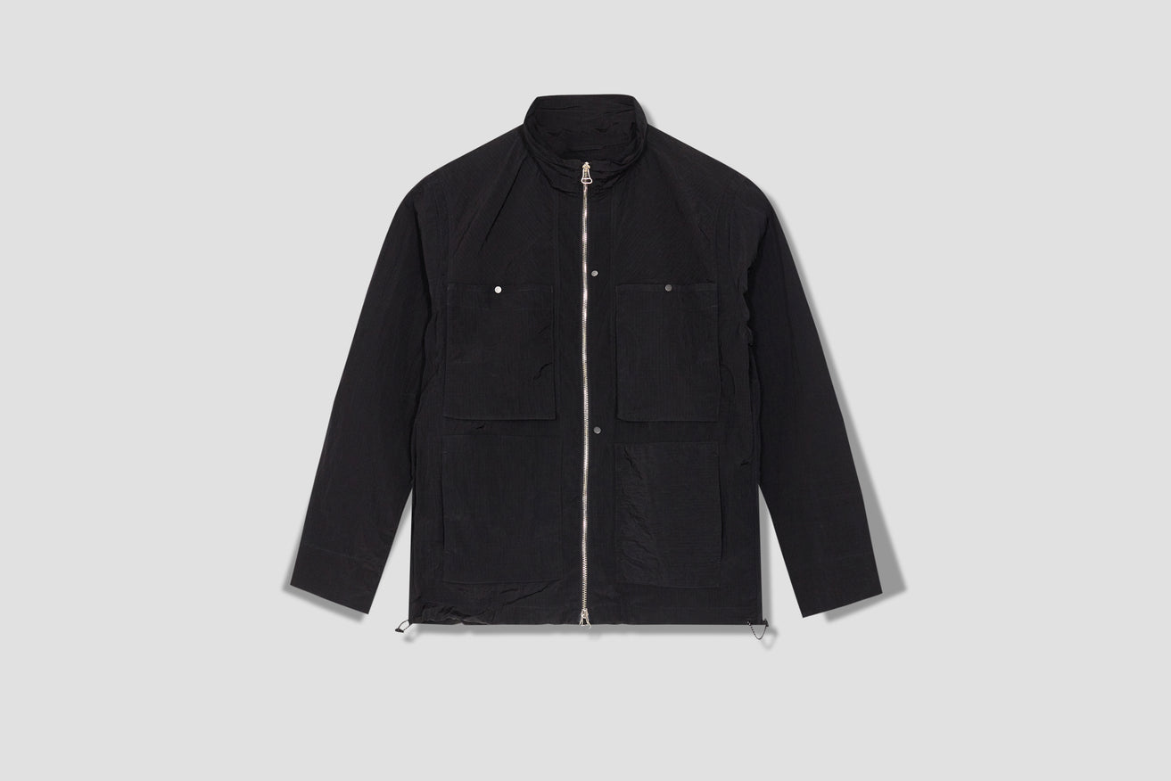 DYED SAILOR JACKET SS21-1-7O6 Black