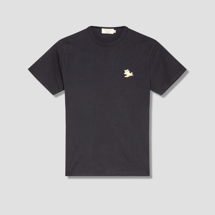 CHILLAX FOX PATCH CLASSIC TEE-SHIRT GU00154KJ0010 Black