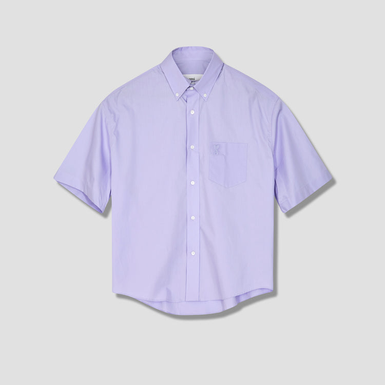 AMI DE COEUR BOXY FIT SHIRT E21HC251.426 Purple