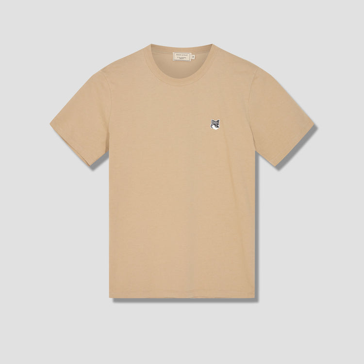 GREY FOX HEAD PATCH CLASSIC TEE-SHIRT GM00144KJ0008 Beige