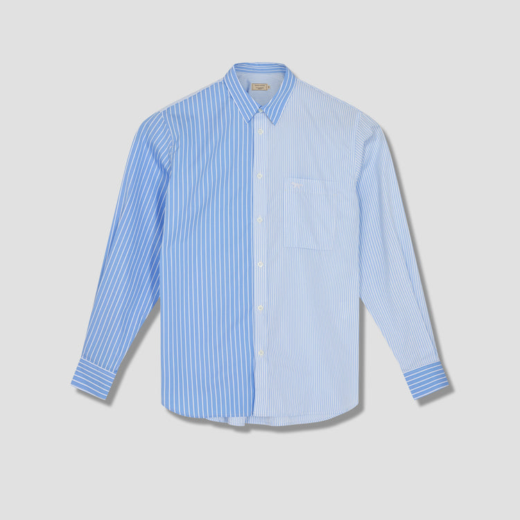 REGULAR ONE POCKET LONG SLEEVES SHIRT GM00449WC2015 Blue