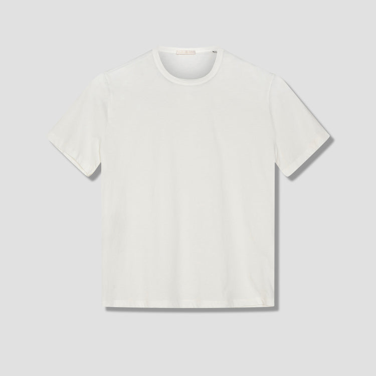 NEW BOX T-SHIRT - WHITE CLEAN JERSEY M2206NW White