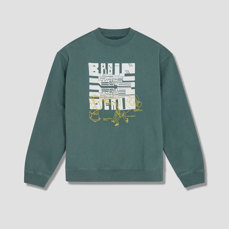 TUTORIALS CREWNECK SWEATSHIRT BDP21T10001800GR01 Green