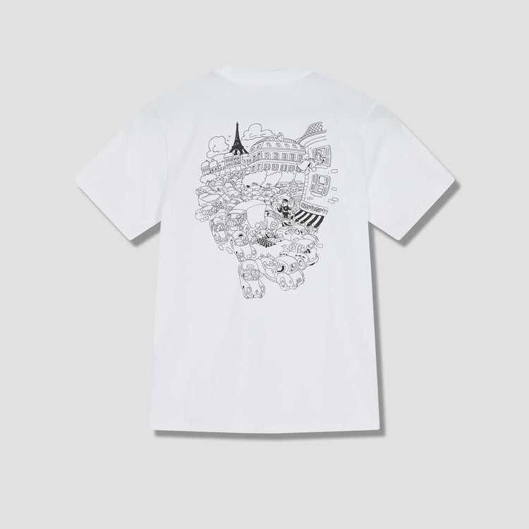 S/S PICNIC IN PARIS T-SHIRT I029932 White