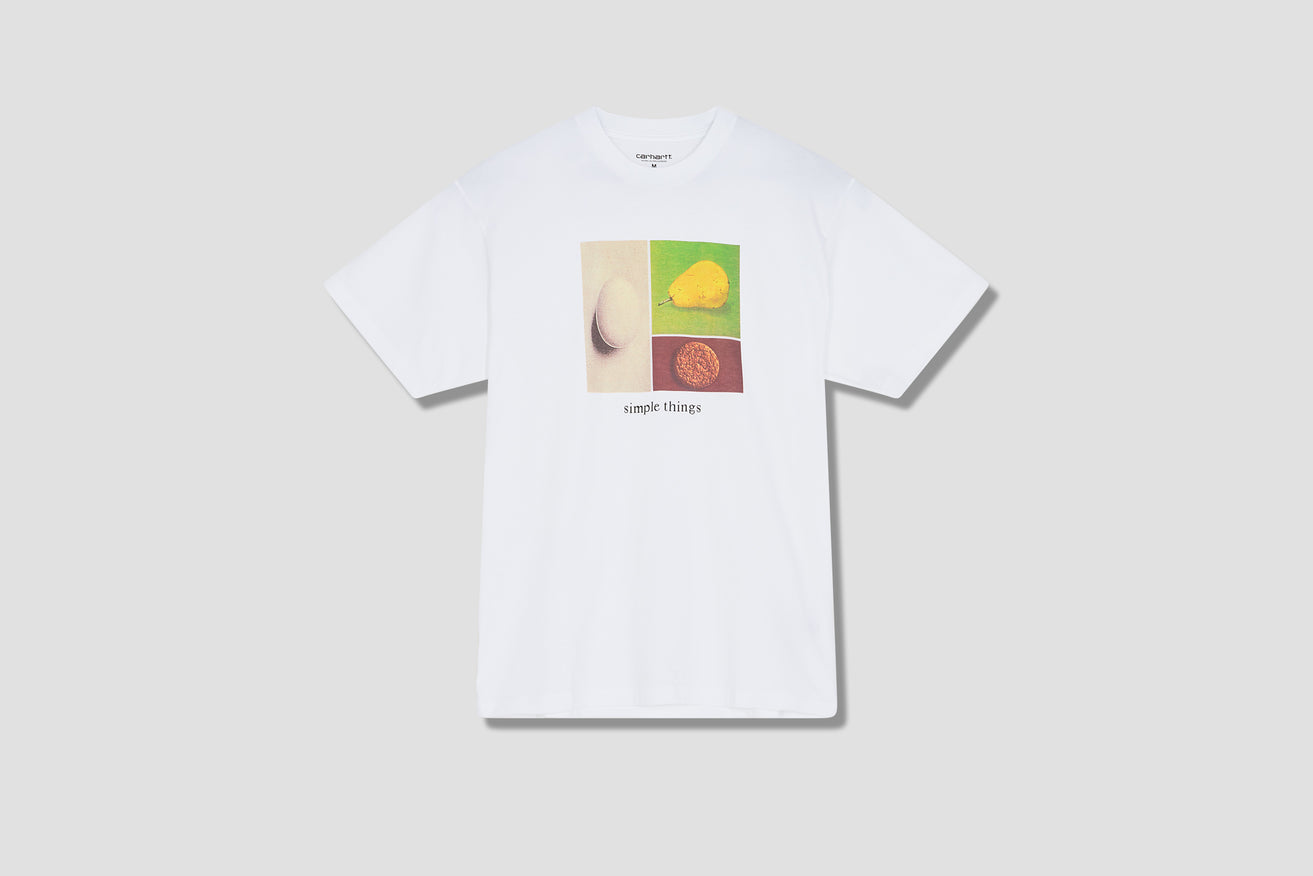 S/S SIMPLE THINGS T-SHIRT I029935 White
