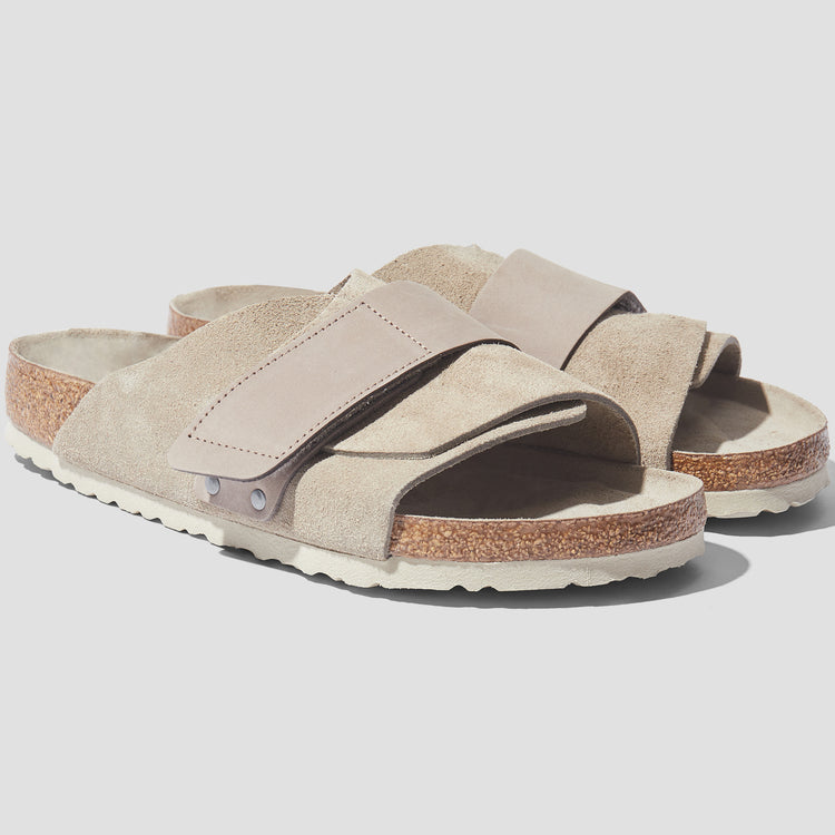KYOTO SOFT FOOTBED - SUEDE LEATHER/NUBUCK / TAUPE 1019205 Grey