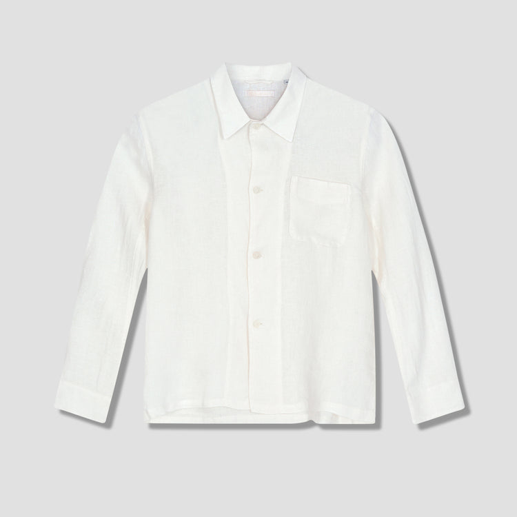 BOX SHIRT - WHITE ROUGH SACK M2212BWR Off white