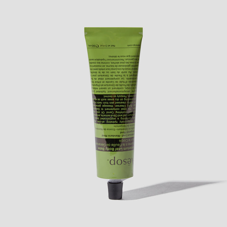 GERANIUM LEAF BODY BALM 100 ML. T100BM08