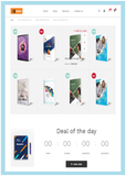 Book Store / Library - Website Design-1