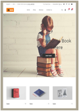 Book Store / Library - Website Design-2