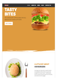 Food - Website Design -1