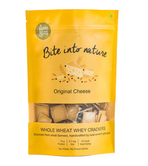 Whole wheat crackers (Orginal Cheese)