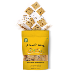 Whole Wheat & Natural Whey Crackers