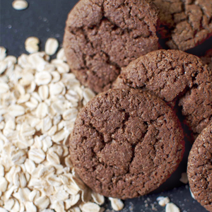 Finger Millet & Rolled Oats Cookies