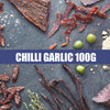 Chilli & Garlic Biltong Sliced