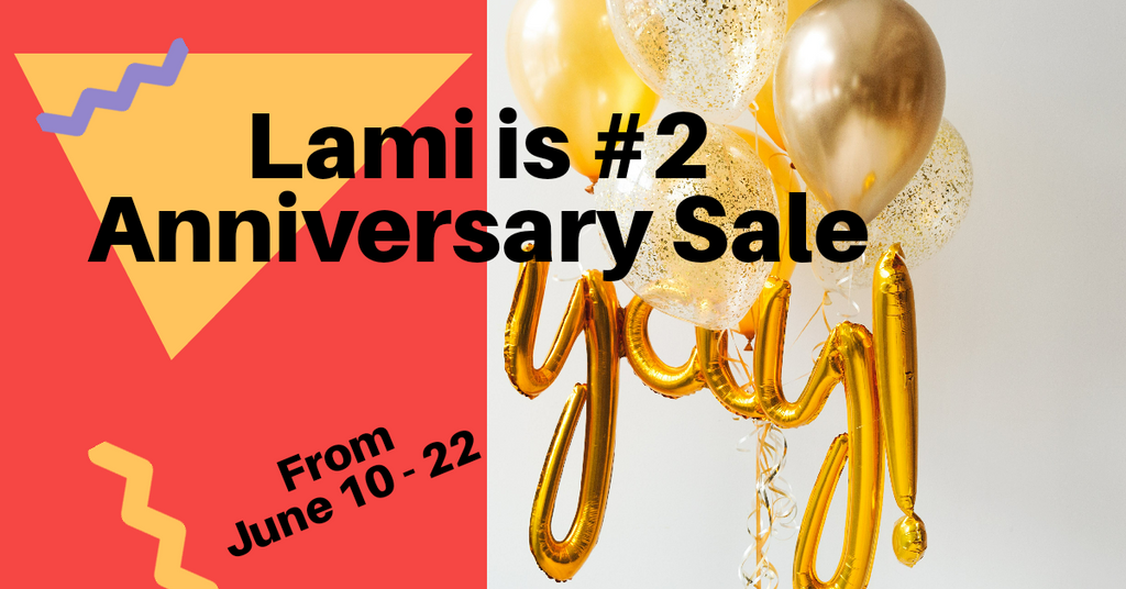 Lami Fragrance 2-Years Anniversary Sale