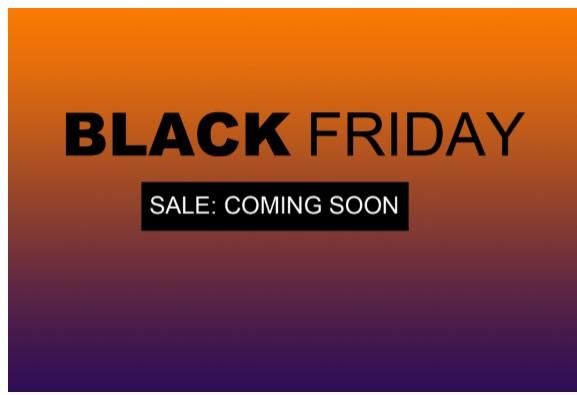 Black Friday 2018 is Coming to Lami Fragrance!