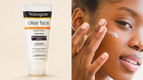 Beauty Blog - Neutrogena Clear Face Liquid Lotion Sunscreen Spf 55 Review