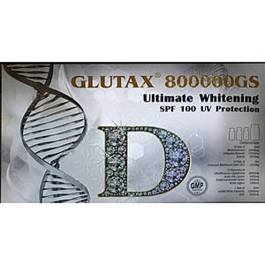 Glutax 800000GS Ultimate Whitening SPF 100 UV Protection Glutathione Injection
