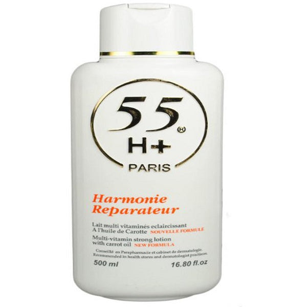 55H+ Harmonie Reparateur Carrot Lotion - 500ml